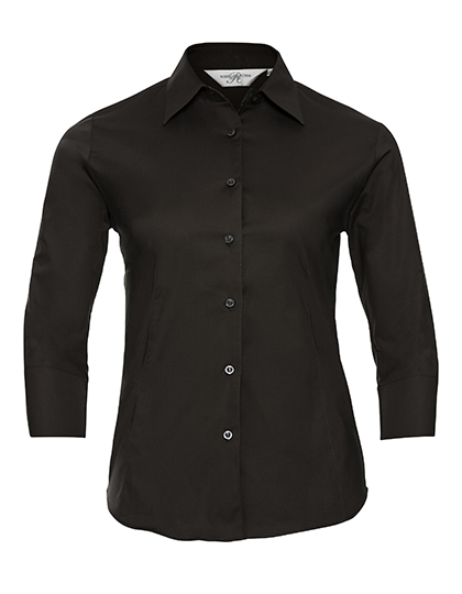 Ladies Fitted Shirt Russel Z946F - black