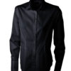 Ladies Long Sleeved Blouse James & Nicholson - black