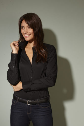 Ladies Shirt Slim Fit James & Nicholson