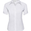 Ladies Short Sleeve Ultimate Non Iron Shirt Russell - white