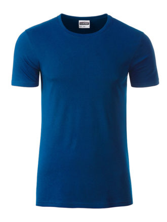 Mens Basic T James & Nicholson - dark royal