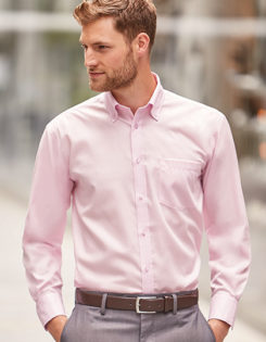 Mens Long Sleeve Ultimate Non-Iron Shirt