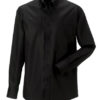 Mens Long Sleeve Ultimate Non-Iron Shirt - black