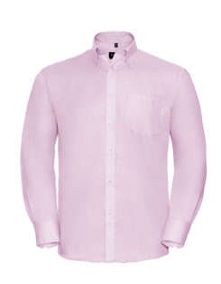 Mens Long Sleeve Ultimate Non-Iron Shirt - classic pink