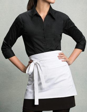 Womens Bar Shirt 3 4 Sleeve Bargear - black