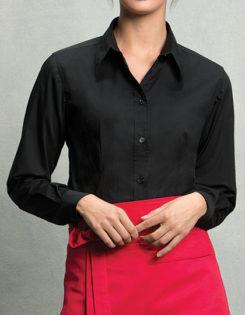 Womens Bar Shirt Long Sleeve Bargear - black