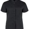 Womens Bar Shirt Mandarin Collar Long Sleeve Bargear