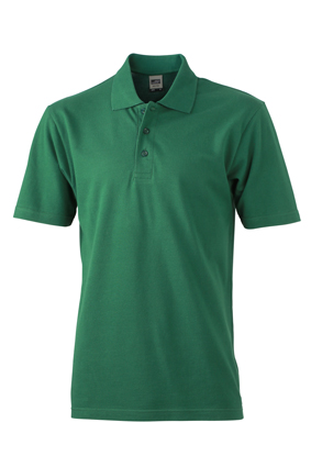 Basic Polo James & Nicholson - dark green