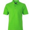 Basic Polo James & Nicholson - lime green