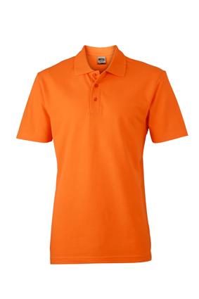 Basic Polo James & Nicholson - orange