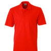 Basic Polo James & Nicholson - red