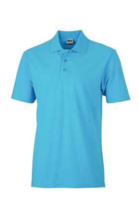 Basic Polo James & Nicholson - turquoise