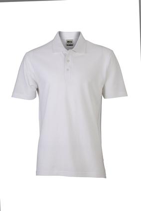 Basic Polo James & Nicholson - white