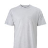 Basic T Shirt James & Nicholson - ash
