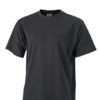 Basic T Shirt James & Nicholson - black