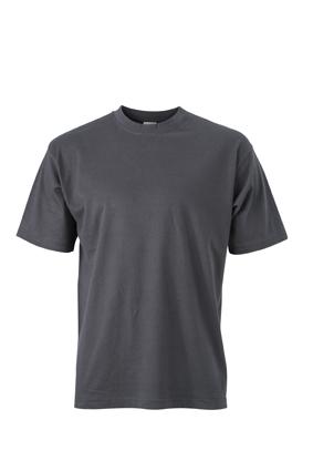 Basic T Shirt James & Nicholson - graphite