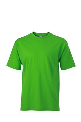 Basic T Shirt James & Nicholson - lime-green