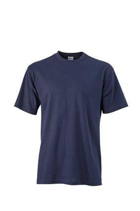 Basic T Shirt James & Nicholson - navy