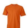 Basic T Shirt James & Nicholson - orange