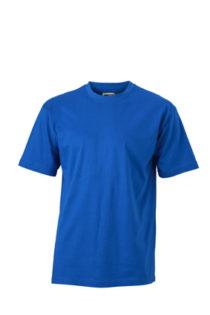 Basic T Shirt James & Nicholson - royal
