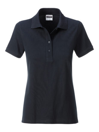 Ladies Basic Polo James & Nicholson - black