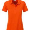 Ladies Basic Polo James & Nicholson - dark orange