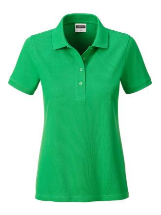 Ladies Basic Polo James & Nicholson - fern green