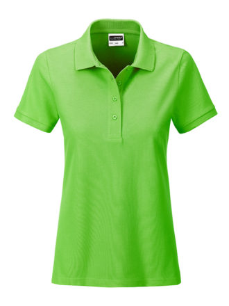 Ladies Basic Polo James & Nicholson - lime green