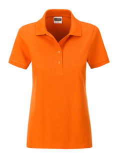Ladies Basic Polo James & Nicholson - orange
