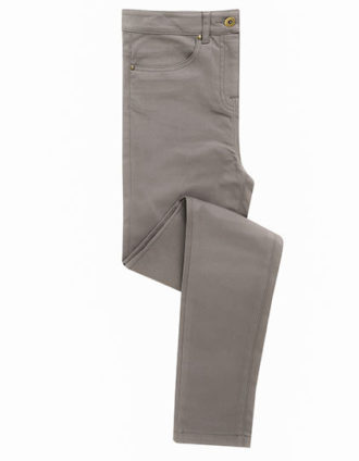Ladies Performance Chino Jean Premier - Steel grey