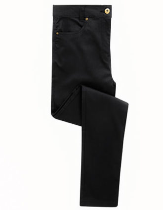 Ladies Performance Chino Jean Premier - black