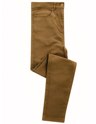 Ladies Performance Chino Jean Premier - camel