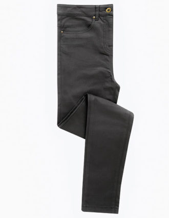 Ladies Performance Chino Jean Premier - charcoal