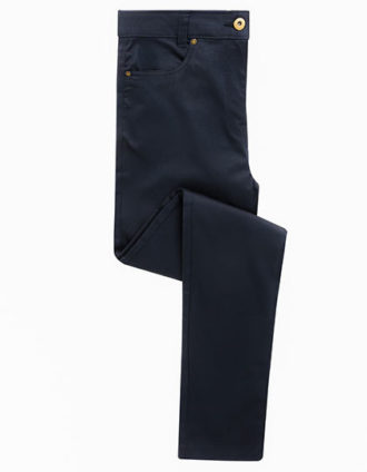 Ladies Performance Chino Jean Premier - navy