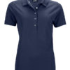 Ladies Pima Polo James & Nicholson - navy