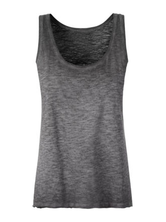 Ladies Slub Top James & Nicholson - graphite
