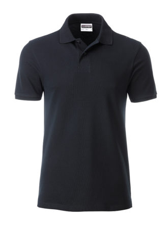 Mens Basic Polo James & Nicholson - black