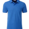 Mens Basic Polo James & Nicholson - cobalt
