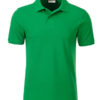 Mens Basic Polo James & Nicholson - fern green
