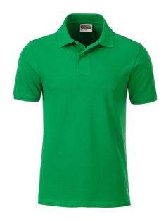 Mens Basic Polo James & Nicholson - fern green
