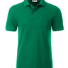 Mens Basic Polo James & Nicholson - irish green