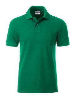 Mens Basic Polo James & Nicholson - irish green