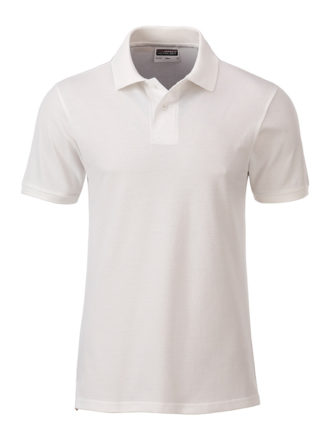 Mens Basic Polo James & Nicholson - natural