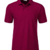 Mens Basic Polo James & Nicholson - wine