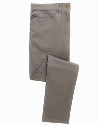 Mens Performance Chino Jean Premier - steelgrey