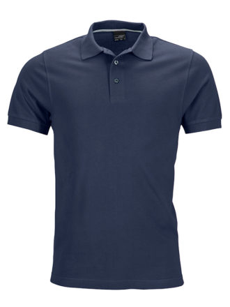Mens Pima Polo James & Nicholson - navy