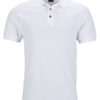 Mens Pima Polo James & Nicholson - white