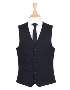 One Collection Mercury Waistcoat Brook Taverner - black