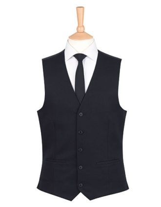 One Collection Mercury Waistcoat Brook Taverner - black