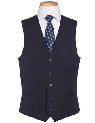 One Collection Mercury Waistcoat Brook Taverner - navy